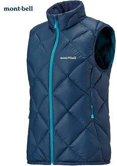 Mont-Bell 羽絨背心/羽毛背心 Light Alpine 800FP鵝絨 女款 1101537 PUID純靛藍 montbell 台北山水