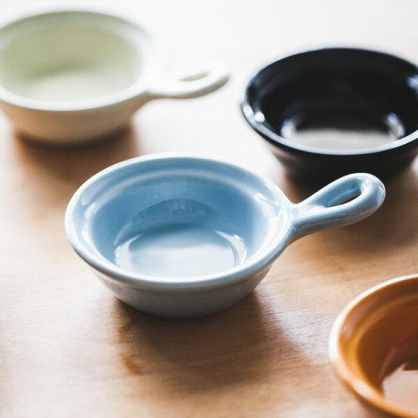 鄉村Zakka廚房 日式彩色家用創意小碟子帶把手可愛陶瓷火鍋醬料碟醋碟子