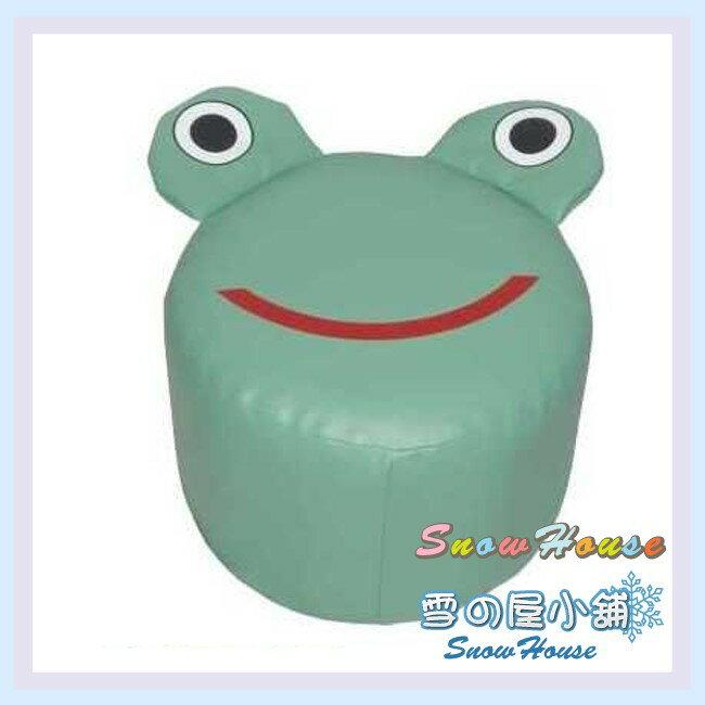 ╭~雪之屋居家 館~╯P127~07 小青蛙 椅  兒童沙發  小沙發  休閒椅  和室椅