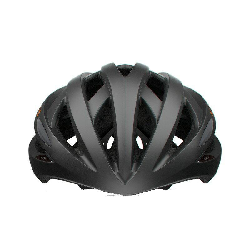 【7號公園自行車】KPLUS VITA 基本款自行車專用安全帽(黑橘)