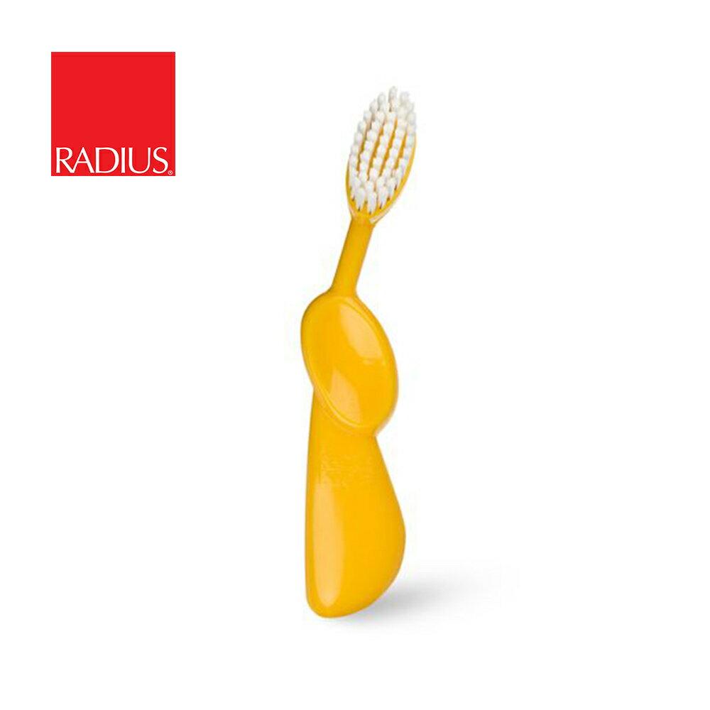 【Radius】雷迪兒美國兒童按摩牙刷/6歲以上 黃色
