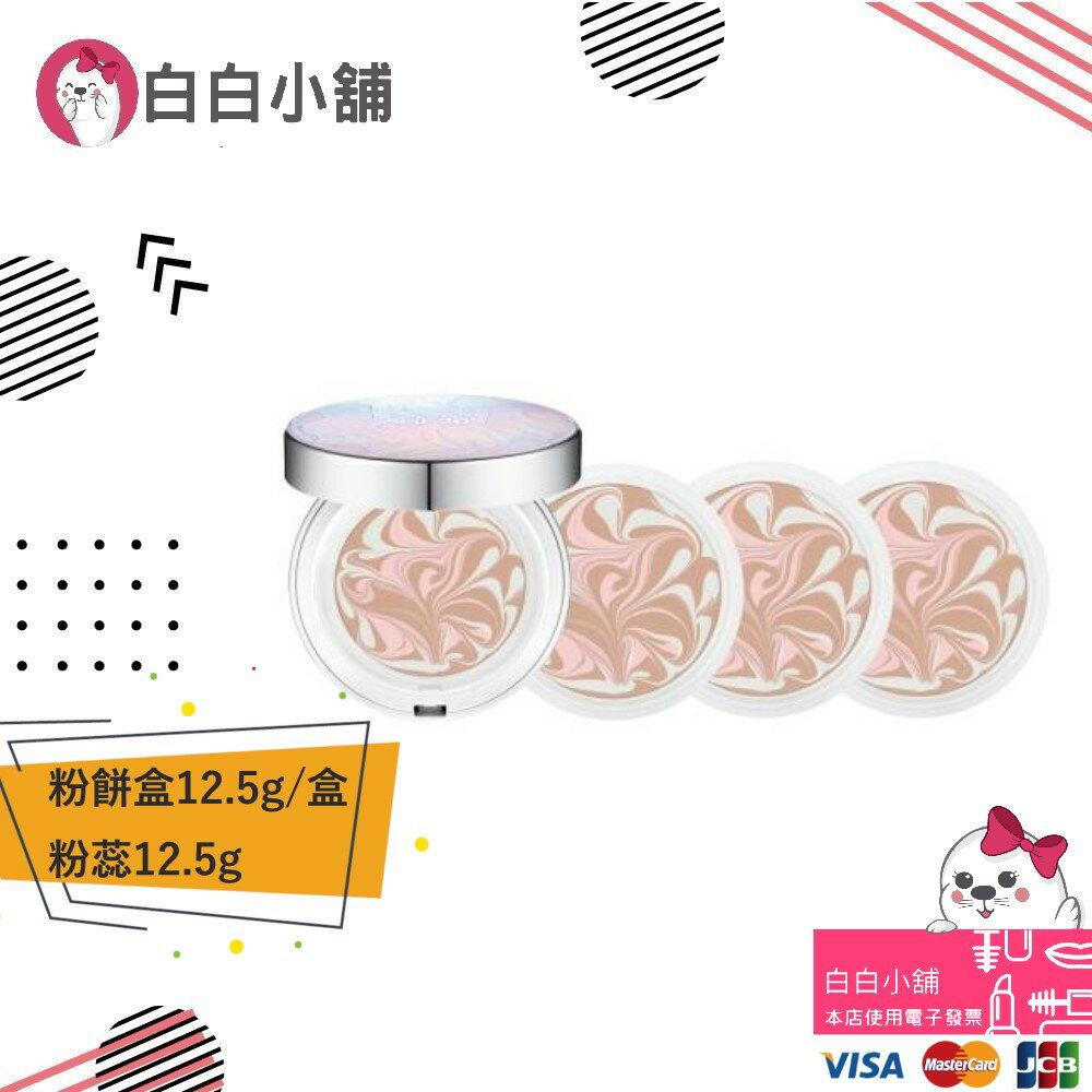韓國AGE20正宗安瓶爆水粉餅(粉餅盒12.5g/盒、粉蕊12.5g x3包)【白白小舖】