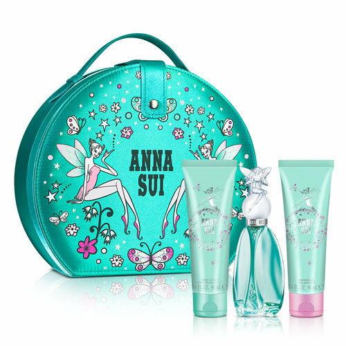Anna Sui 安娜蘇 許願精靈甜蜜假期禮盒 (淡香水50ml+身體乳90ml+沐浴精90ml)