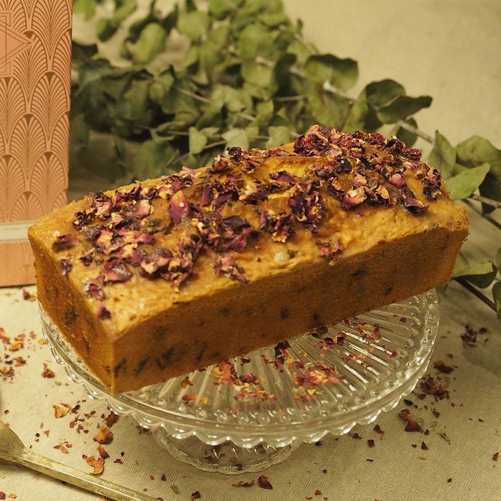 艾樂比 【玫瑰接骨木花磅蛋糕】 磅蛋糕 玫瑰 接骨木 獨創 禮盒 aluvbe