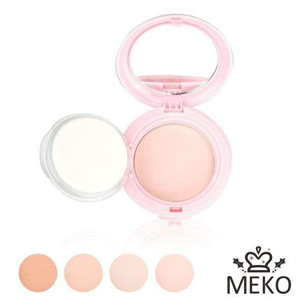 【MEKO】水嫩糖瓷潤粉餅(共4色)