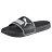 Shoestw【360263-01】PUMA LEADCAT 拖鞋 運動拖鞋 基本款 黑色 白邊 大LOGO 男生尺寸 2