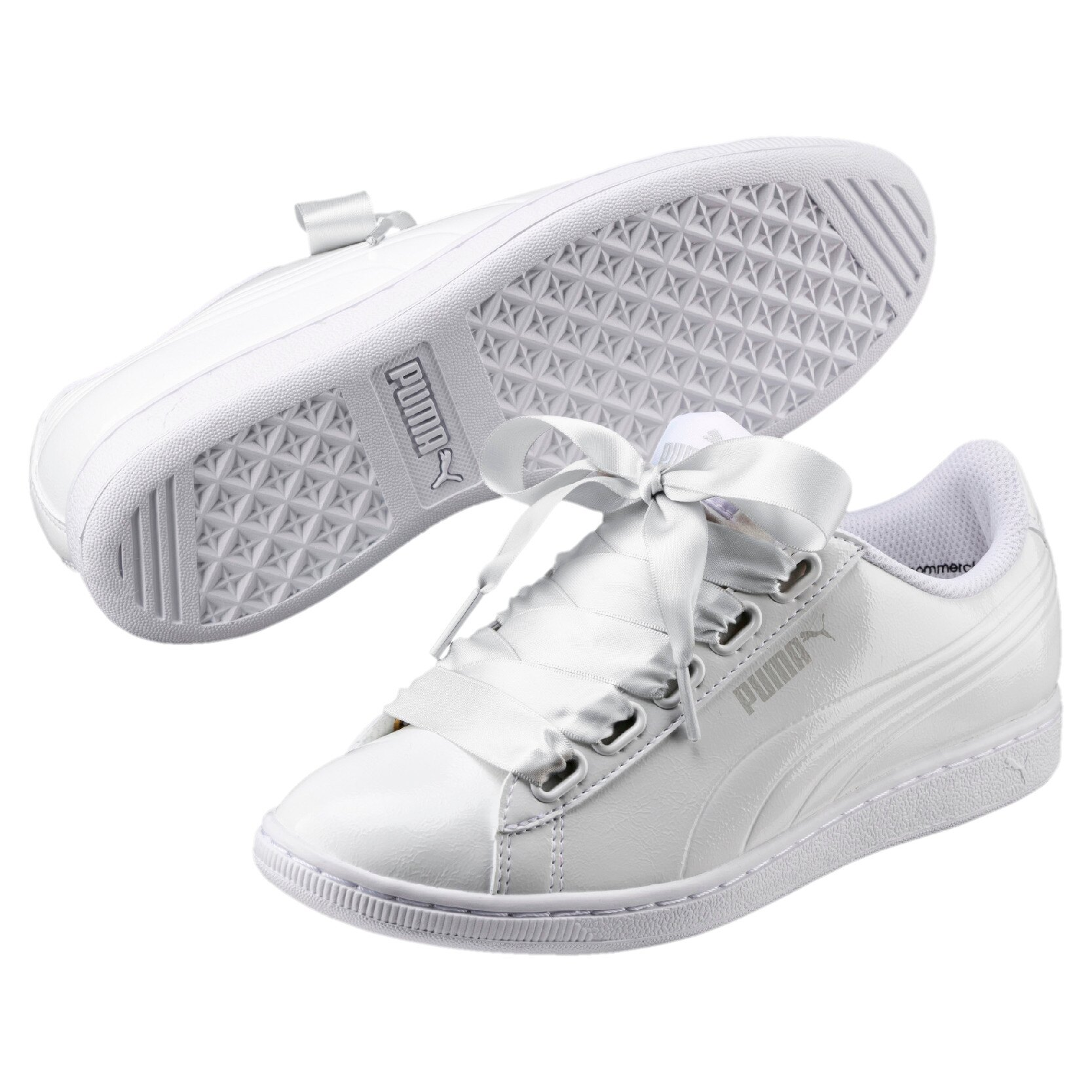 53ecb69175 Official Puma Store  PUMA Vikky Ribbon Patent Women s Sneakers ...