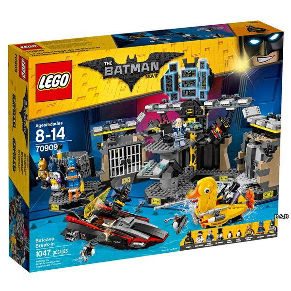 樂高積木LEGO《 LT70909 》Batman Movie 蝙蝠俠電影 -Batcav