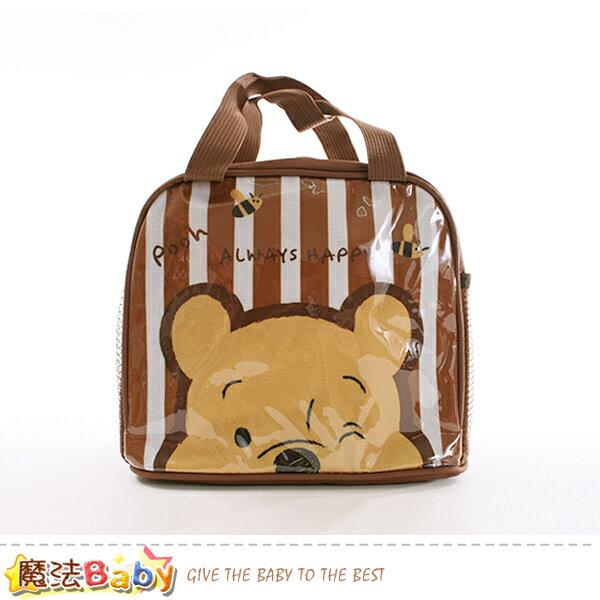 便當袋 迪士尼小熊維尼授權正版提袋 魔法Baby~f0253