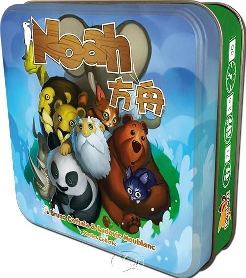 方舟 Noah 繁體中文 鐵盒版 諾亞方舟 高雄龐奇桌遊 正版桌遊專賣 桌上遊戲商品