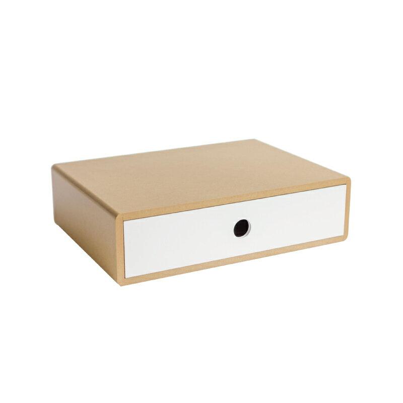 簡約多功能收納螢幕架 木質感簡約無印風格 置物盒 收納盒 文具收納 台灣製|宅貨