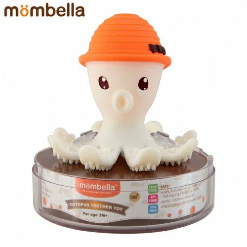 【安琪兒】【mombella】樂咬咬章魚固齒器-盒蓋裝(4色) 3