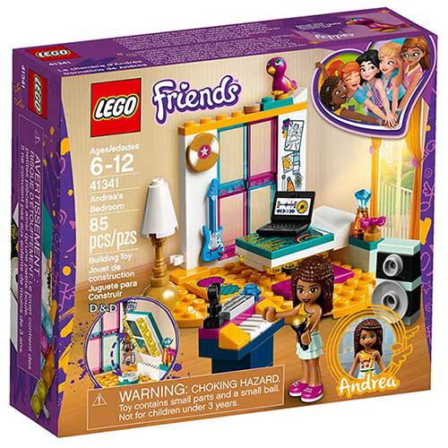 樂高積木LEGO《LT41341》2018年Friends姊妹淘系列-安德里亞的臥室