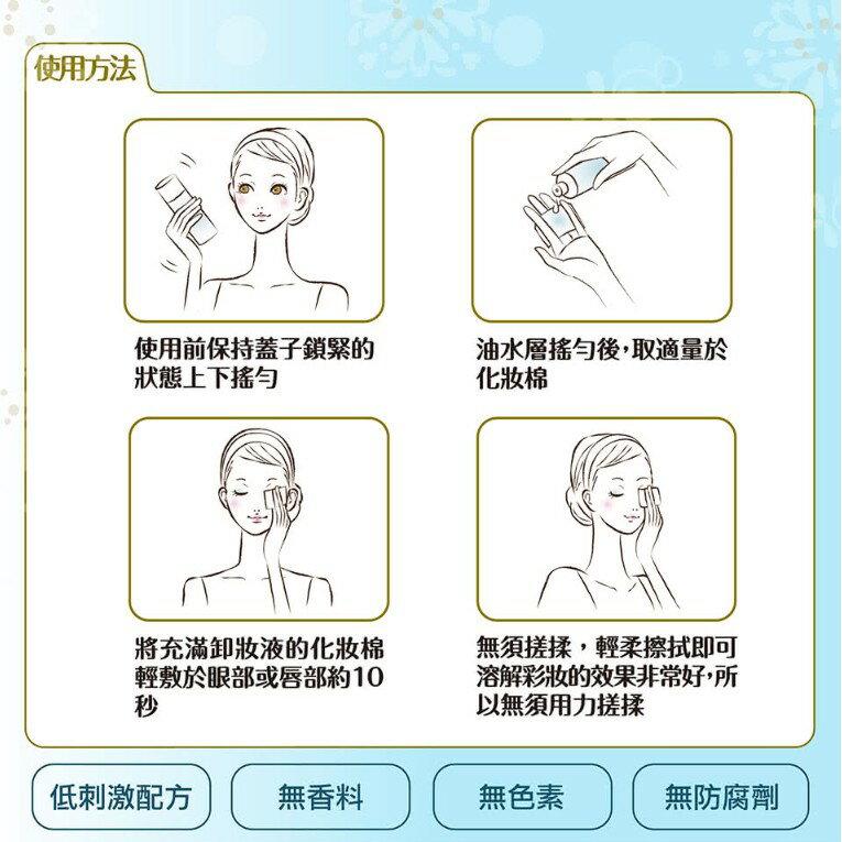 (小資族購物站) Bifesta 碧菲絲特 溫和即淨眼唇卸妝液 145ml 擦拭型局部卸妝液 2