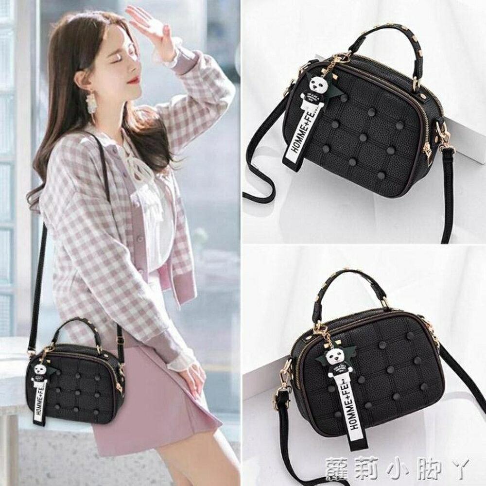 手提包包包女新款潮韓版時尚洋氣女包迷你小包單肩包簡約百搭側背包 蘿莉小腳丫