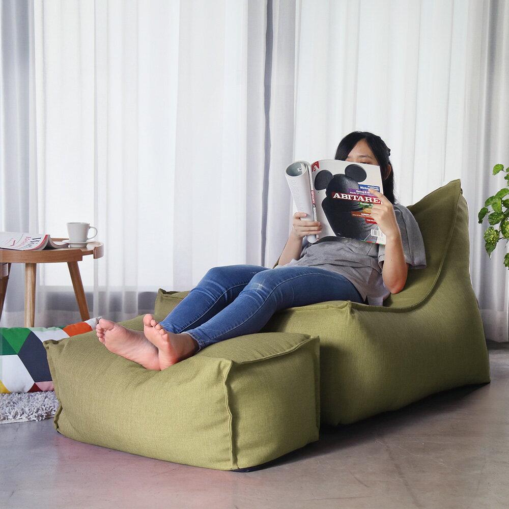 JASON賈森簡約風舒適懶骨頭沙發(L型+凳) / H&D東稻家居 / 好窩生活節 0