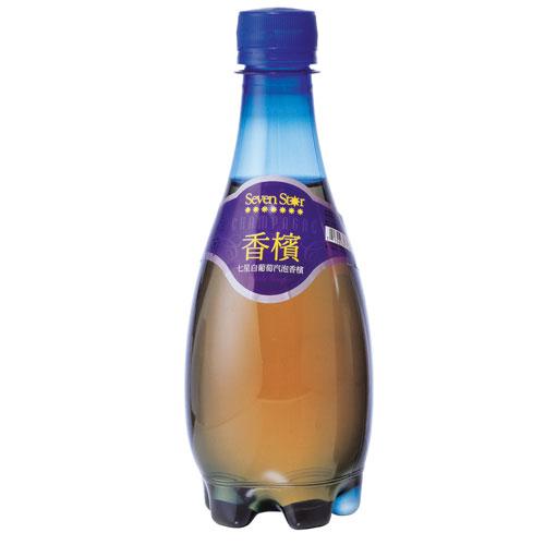 ★超值3件組★七星白葡萄氣泡香檳370ml【愛買】