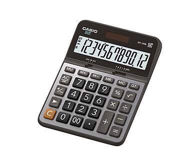 [公司貨2年保固]CASIO 計算機 DX-120B 12位數/金屬面板/大型顯示幕