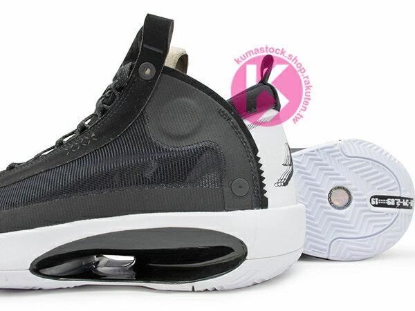 2019-2020 史上最輕 NIKE AIR JORDAN XXXIV 34 PF BLACK WHITE 黑白 新一代 ECLIPSE PLATE 避震科技傳導 前、後 ZOOM 籃球鞋 AJ 4 (BQ3381-001) 1119 3