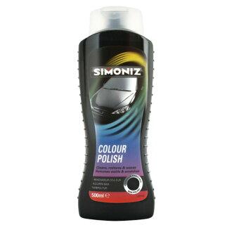 英國SIMONIZ喜美奈鈑金修復增艷拋光釉(黑到發亮)SIM36