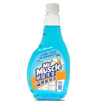 威猛先生 玻璃穩潔 重裝瓶 500g