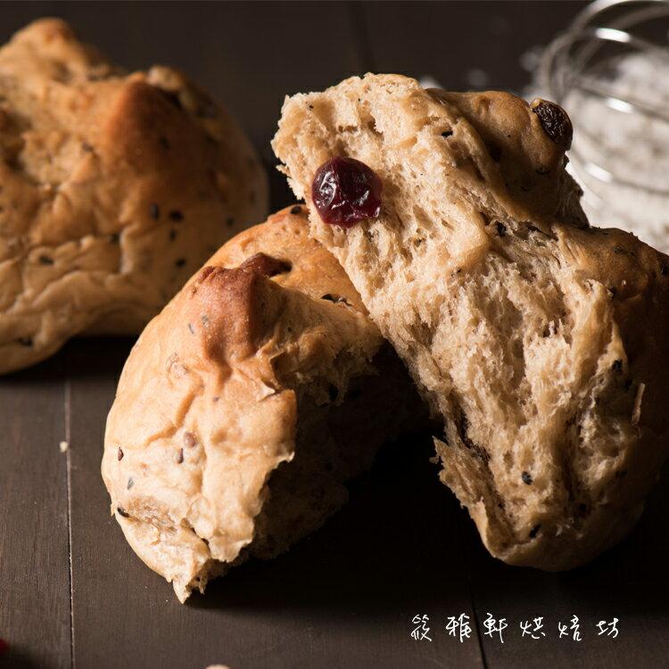 【筱雅軒烘焙坊】 黑棗核桃養生麵包 ★ 天然酵母 x 手作烘焙吐司 x 麵包系列 ***蛋奶素***