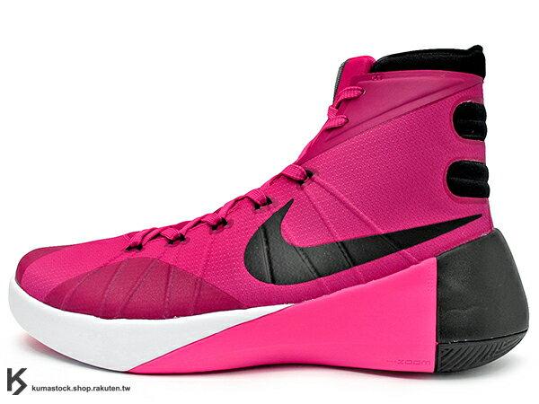 2015 前 後 ZOOM AIR 氣墊搭載 強勢回歸 NIKE HYPERDUNK 2015 EP KAY YOW 乳癌 乳腺癌 粉紅 桃紅 FLYWIRE 鞋面科技 XDR 耐磨橡膠外底 輕量化 籃球鞋 HD 2K15 (749562-606) !