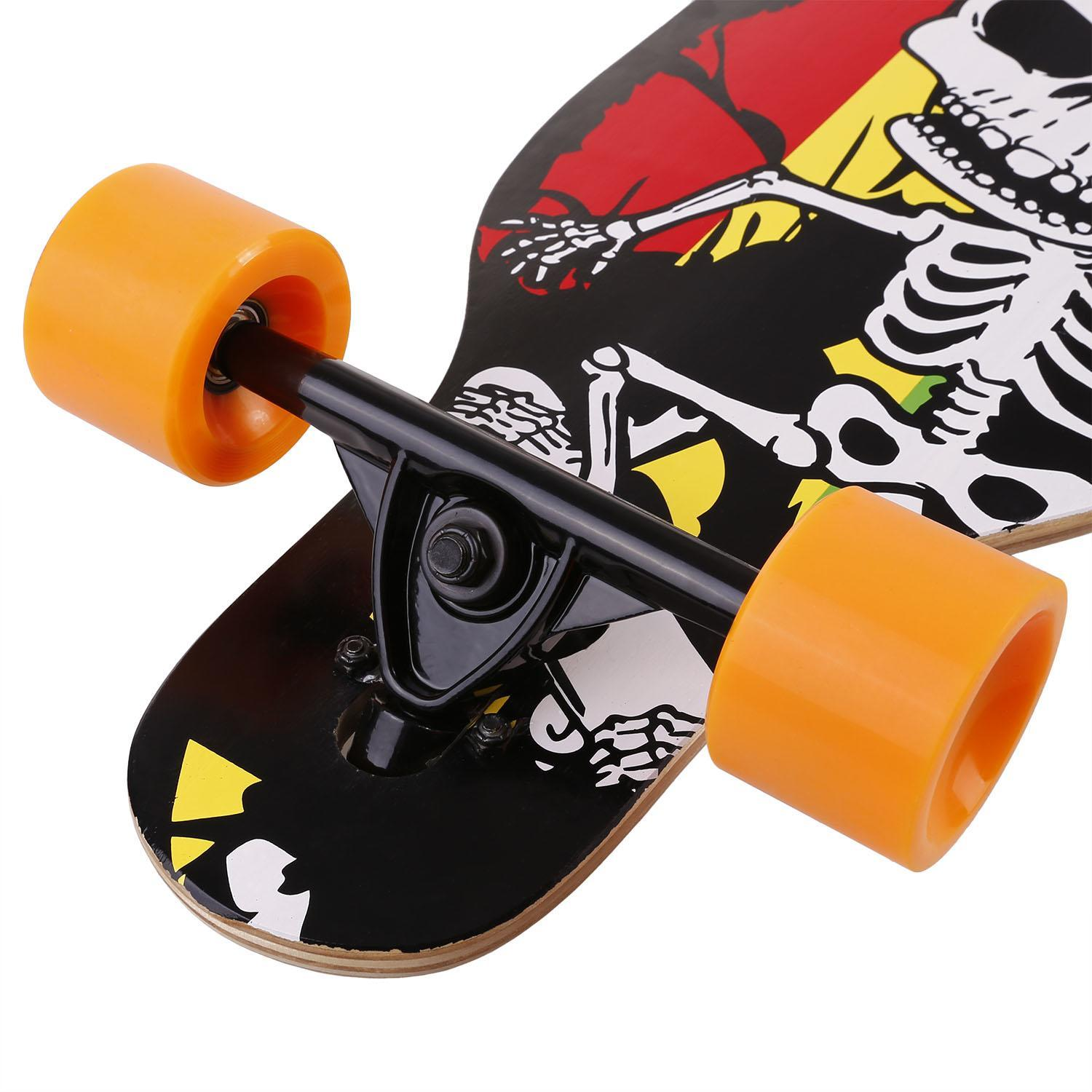Longboard Complete Dancing Road Skateboard Board High Speed Board 3