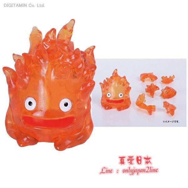 【真愛日本】16091700002立體拼圖9P-卡西法    霍兒的移動城堡  立體拼圖 益智遊戲 玩具