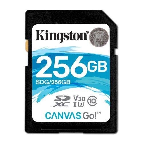 【新風尚潮流】金士頓記憶卡SD大卡256GBSDXCU3讀90MBs寫45MBsSDG256GB