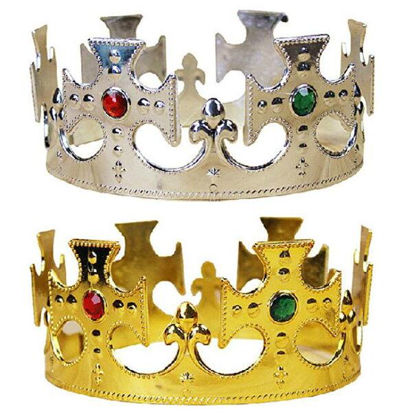 塔克玩具百貨:【塔克】王子裝扮十字頭圈王冠國王皇冠髮箍國王髮箍萬聖節惡搞尾牙變裝遊行COS