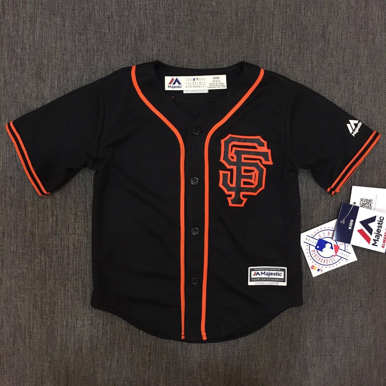 【蟹老闆】Majestic 孩童 棒球球衣 大聯盟 MLB 舊金山巨人 San Francisco Giants 2T~4T