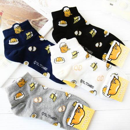 EZMORE購物網:韓國蛋黃哥滿版造型襪襪子造型襪流行襪居家蛋黃哥卡通襪【N102677】