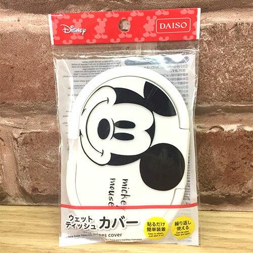 【真愛日本】17052500011 日本製濕紙巾蓋-米奇立體臉 迪士尼 米老鼠米奇 米妮 濕紙巾蓋 嬰兒用品