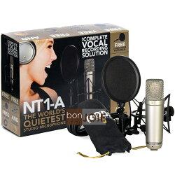 ::bonJOIE:: 美國進口 澳洲製 Rode NT1-A 電容式麥克風 專業套裝組 (全新盒裝) 大振膜 錄音室等級 錄音專用