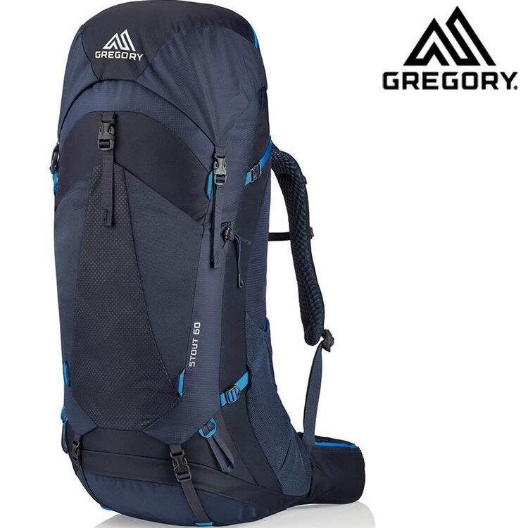 Gregory 後背包/登山背包 Stout 60 登山包60升 126873 幻影藍8320