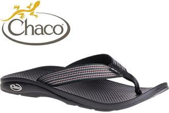 Chaco 夾腳拖鞋/海灘拖/戶外運動涼鞋-沙灘款 男 美國佳扣 CH-ETM01 HD27 步伐黑