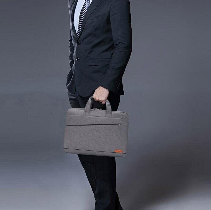 筆電包戴爾華碩蘋果宏基14/15.6寸17寸男女肩背包手提商務筆記本電腦包♠極有家♠