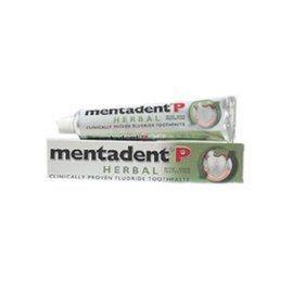 美達淨Mentadent P 天然草本含氟牙膏 100G/條★愛康介護★