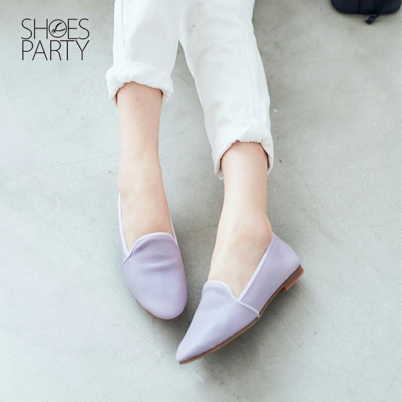 【 C2-17504L 】軟牛皮休閒歐貝拉_Shoes Party 1