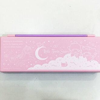 雙子星 KIKILALA 雙色 鉛筆盒 收納盒 置物盒 文具 正版日本進口 限定販售 * JustGirl *