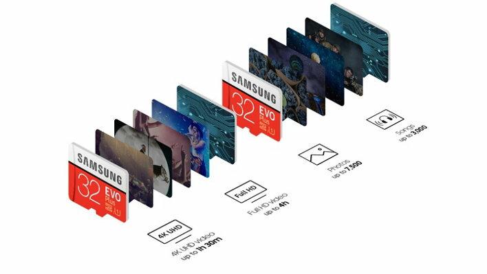 Samsung EVO+ 32GB microSDHC Class 10 32G EVO Plus microSD micro SD SDHC 95MB/s UHS-I U1 C10 MB-MC32GA with Original SD Adapter 3