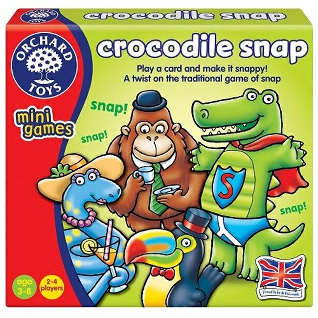 【英國 Orchard Toys】桌遊-鱷魚出沒 Crocodile Snap OT-356