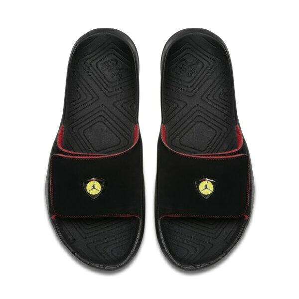NIKEJORDANHYDRO7男鞋拖鞋緩震可調整輕巧黑【運動世界】AA2517-003