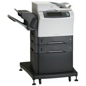 HP LaserJet M4345XS Laser Multifunction Printer - Monochrome - Plain Paper Print - Floor Standing - Copier/Fax/Printer/Scanner - 45 ppm Mono Print - 1200 x 1200 dpi Print - Automatic Duplex Print - 45 cpm Mono Copy - 2 x Input Tray 500 Sheet, 1 x Automati 3