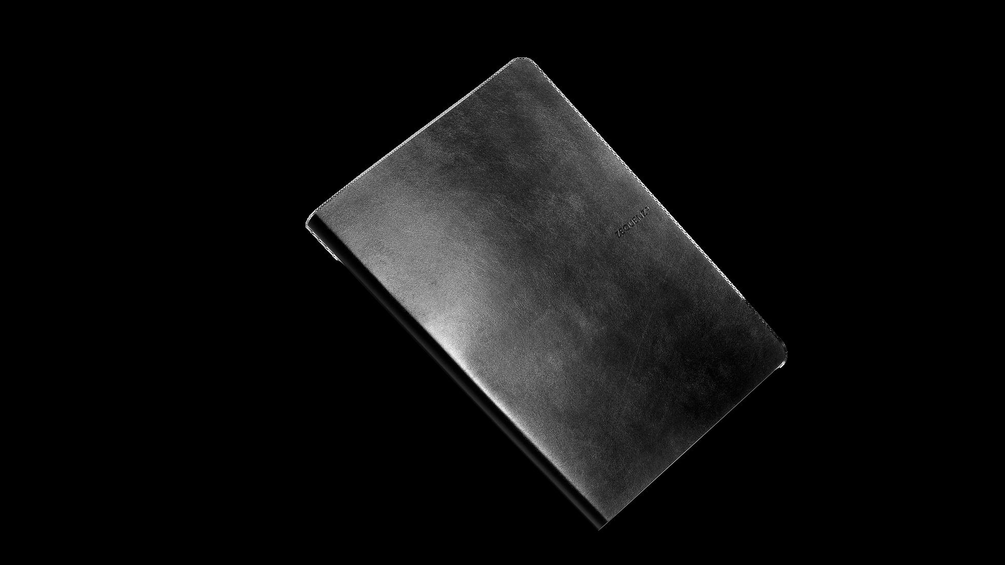ZEQUENZ 360可摺疊橫線筆記本 (A6)(黑色)