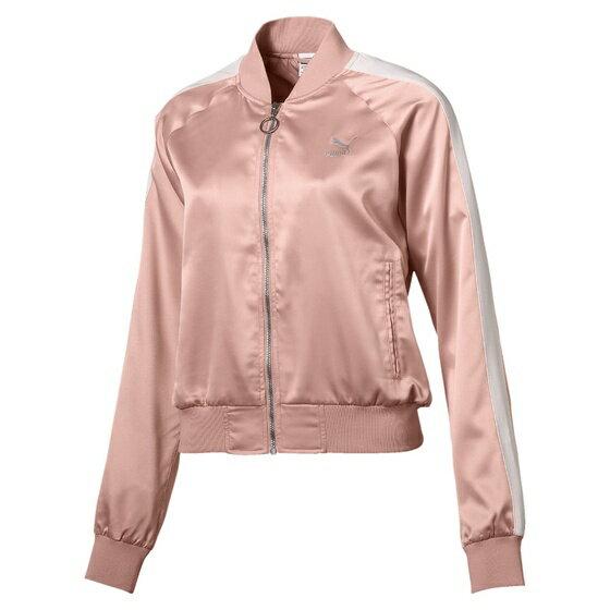 PUMAENPOINTESATINT7女裝外套棒球外套休閒芭蕾風粉【運動世界】57646231