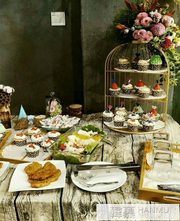 英式下午茶點心架 婚慶甜品台水果托盤架茶歇冷餐展示架 糕點擺件