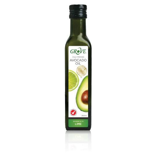 GROVE 100%特級初榨冷壓酪梨油 (萊姆風味) 第一道冷壓初榨 250ml/瓶 原價$490 特價$449