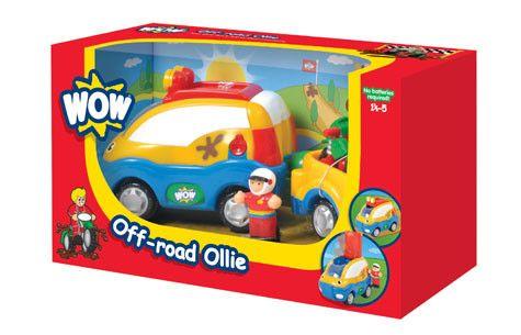 《英國WOWtoys》越野休旅車-歐利